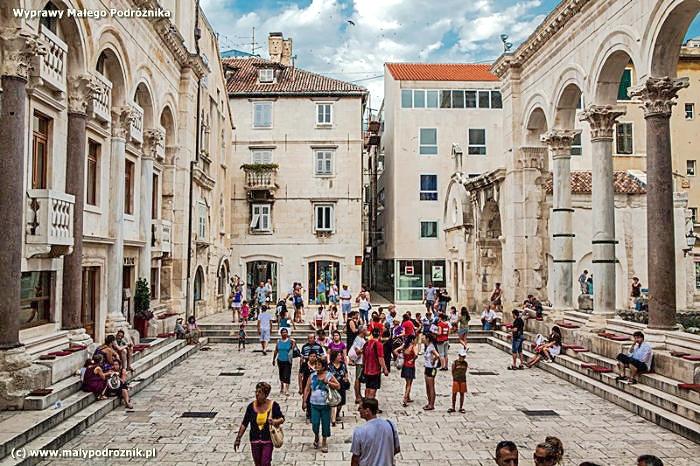 Split - miasto w pałacu