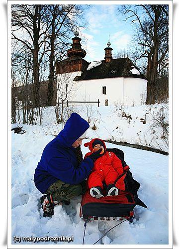 Beskid Niski - pod cerkwią w Bielicznej