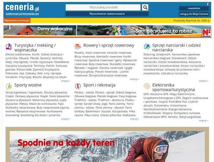 Ceneria.pl - kategorie
