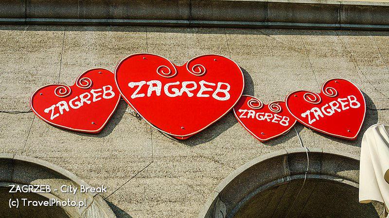 Serduszko - symbol Zagrzebia